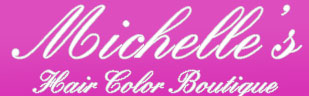 michelle hair salon logo